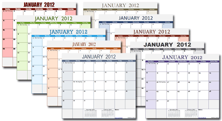 With A Single Excel Calendar Template Xlsx Version You Can