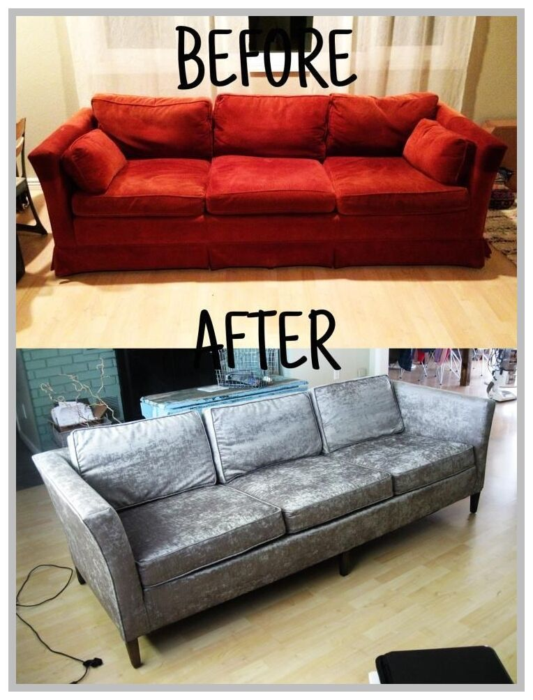 81 Reference Of Couch Reupholster Sectional In 2020 Reupholster Furniture Reupholster Couch Sofa Reupholstery