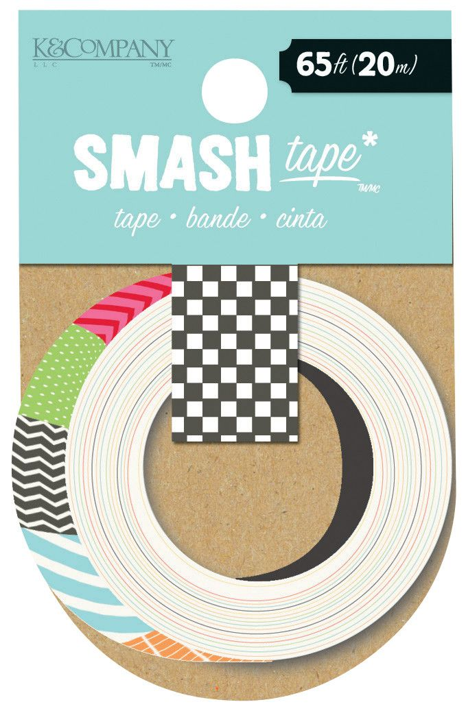 K & Company Smash Swatch Tape