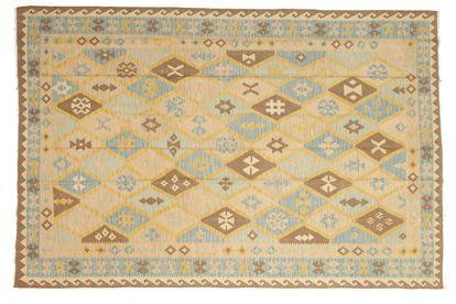 Kelim Afghan Old style teppe 201x295