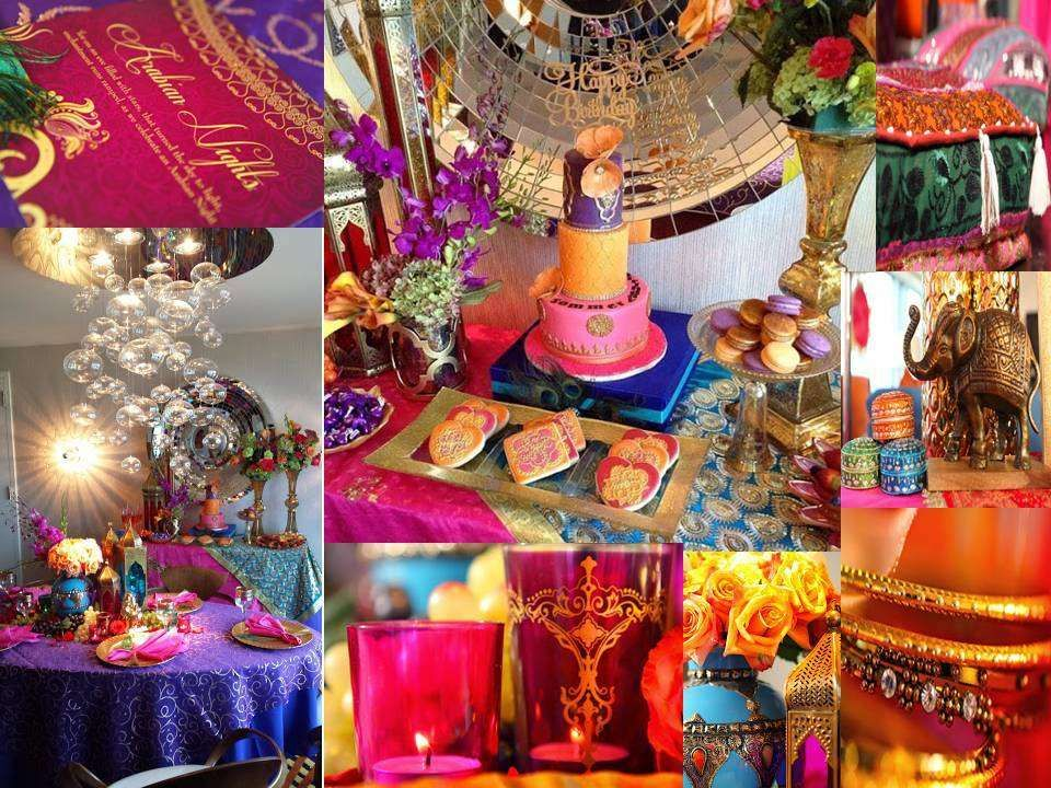 Arabian nights moroccan birthday party ideas arabian for Arabian nights decoration ideas