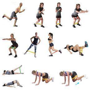 Резинка для фитнеса: упражнения для ног и ягодиц ...