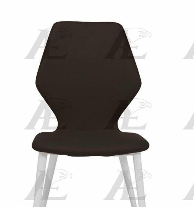 American Eagle Furniture Ck D519 Db Dark Brown Pu Dining: American Eagle Furniture CK-1544E-DB Dark Brown PU Dining
