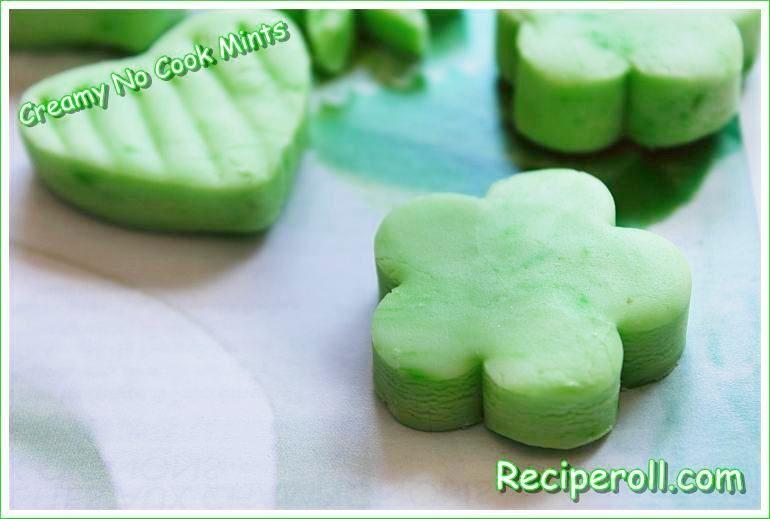 Kitchen Aid Mixer ~ Creamy No Cook Mints