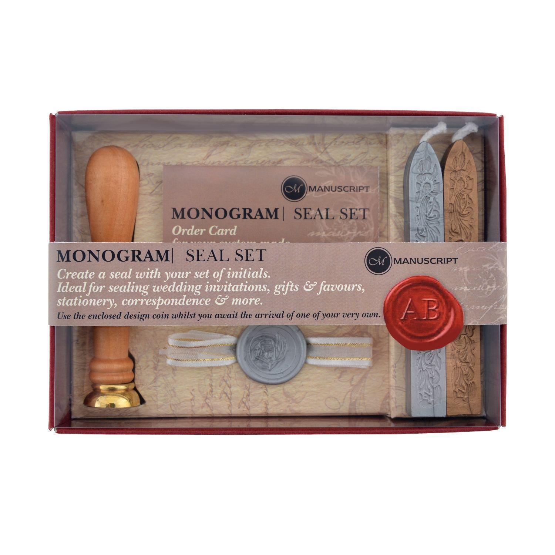 Monogram Sealing Set 16th anniversary gifts, 16th