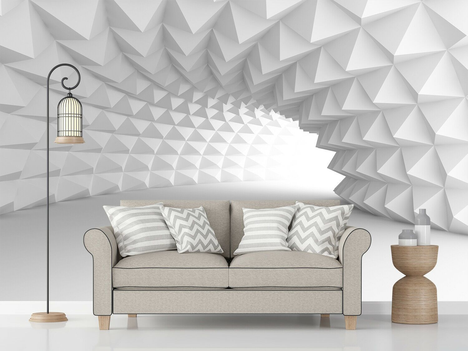 3d Abstract Arch Tunnel Self Adhesive Living Room Wallpaper Wall Murals Decor Bathtubs Ideas O Wallpaper Living Room Living Room Door Wall Stickers Bedroom