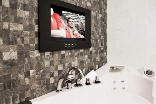 Splashvision bigsplash inbouw tv 22 inch zwart wasserdichte