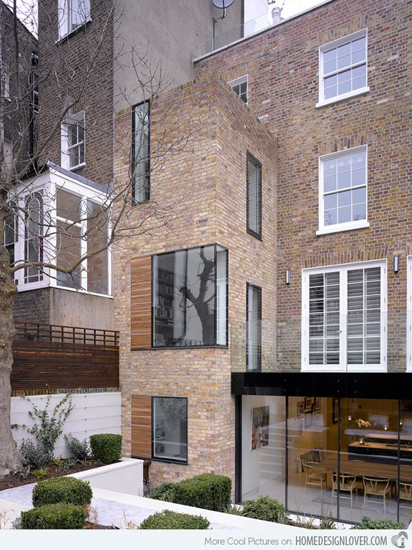 lateral house a contemporary home extension in london architecture pinterest architektur. Black Bedroom Furniture Sets. Home Design Ideas