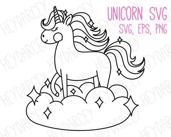 Unicorn Svg Unicorn Svg For Cricut Unicorn Graphic Unicorn Etsy In 2021 Unicorn Svg Unicorn Coloring Pages Unicorn Graphic