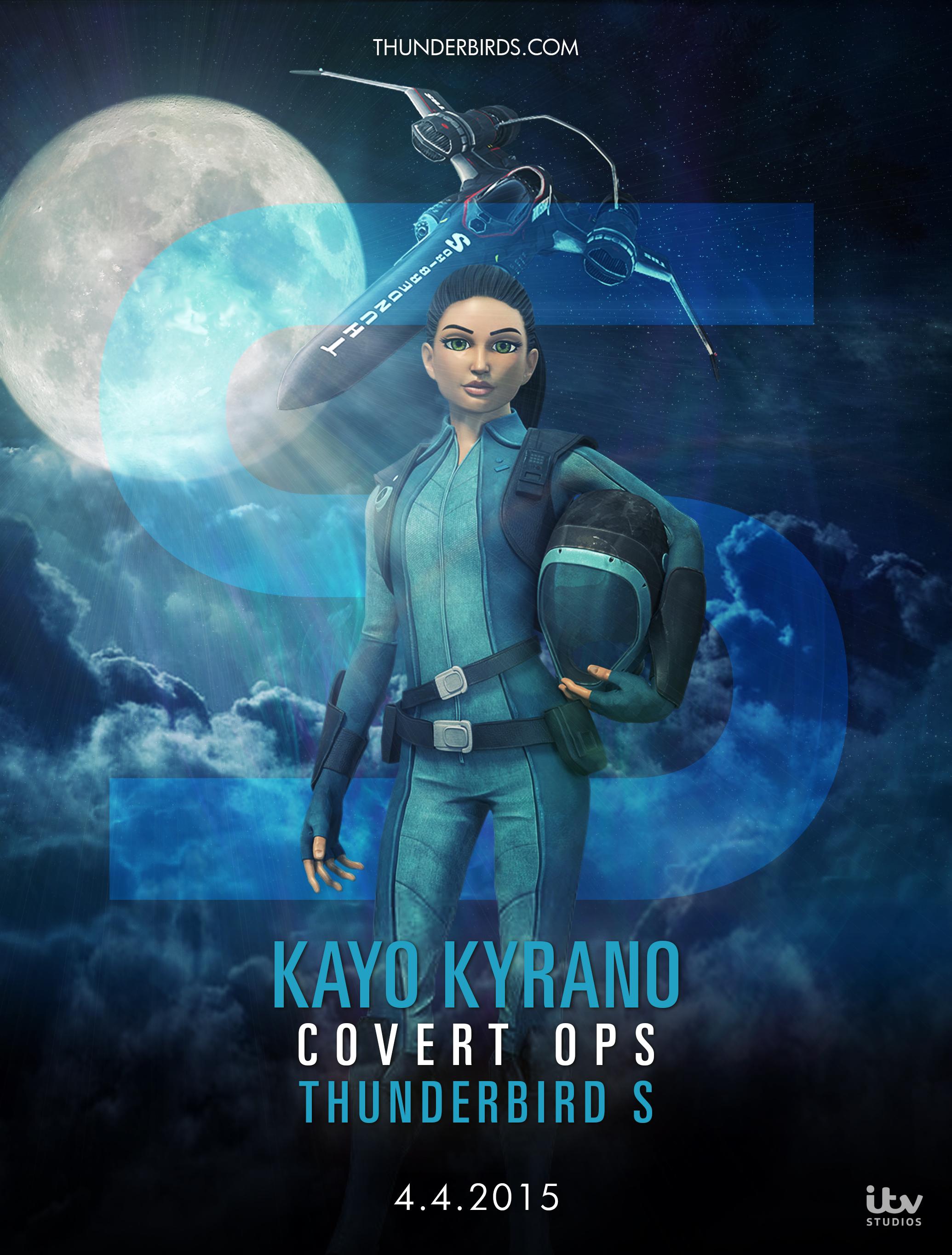 Kayo Kyrano Covert Ops Thunderbird S Animacao Faca Festa E