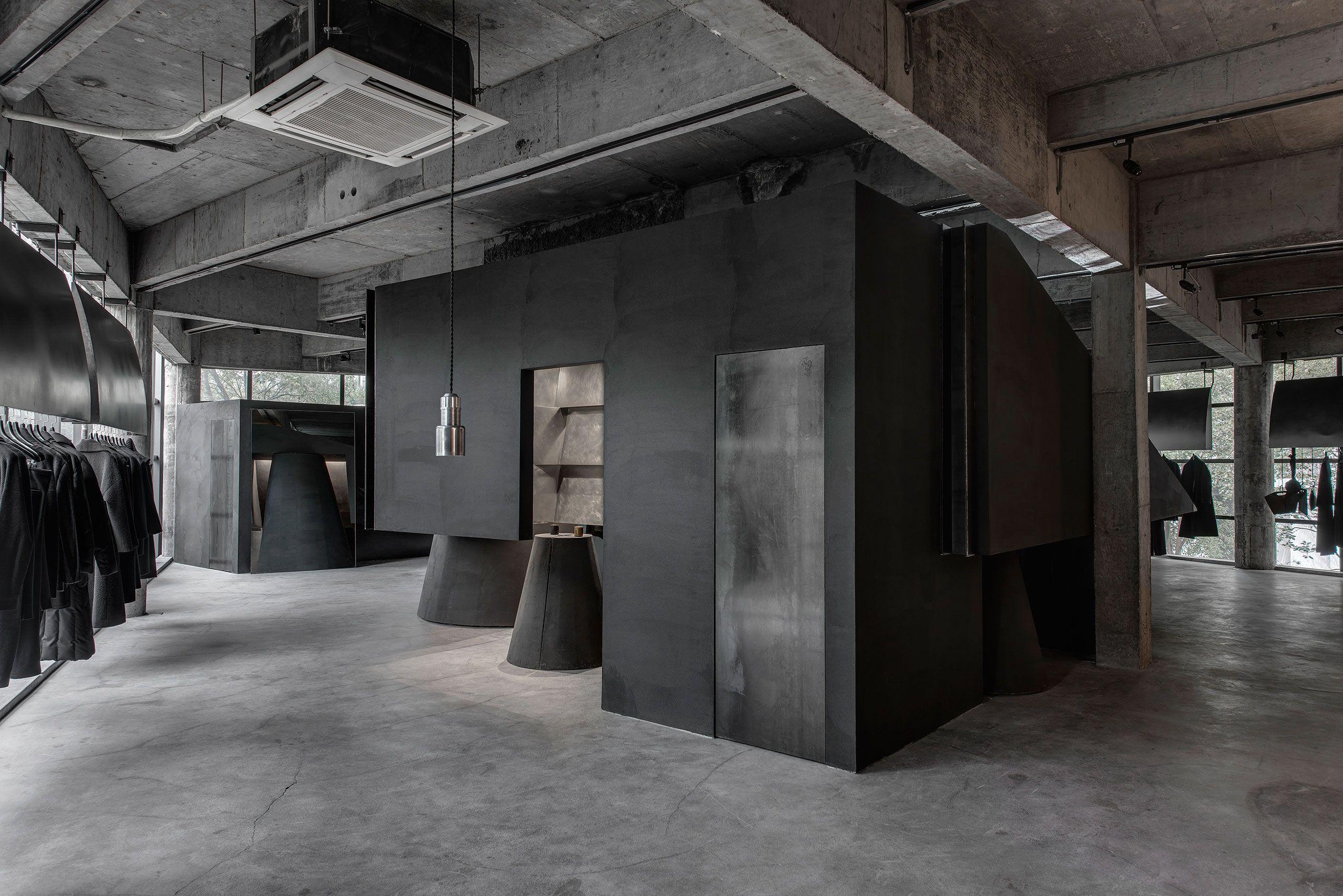 Superior Black Canvas: HEIKE Concept Store By AN Interior Design | Yatzer
