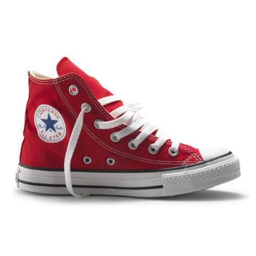 converse all star mujer rojas