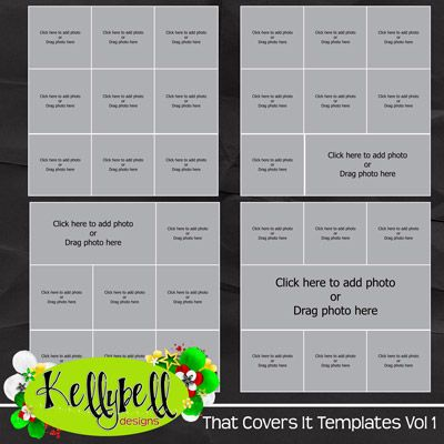 That Covers It Templates Vol 1