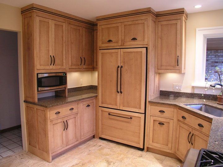 Amish Custom Cabinetry Maple Cabinets Modern Cabinets Kitchen Remodel
