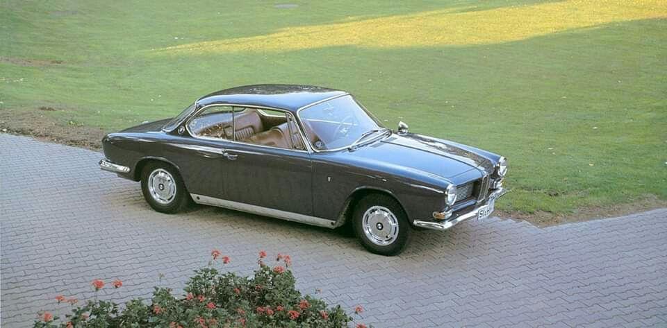 1962-65 BMW 3200 CS Coupe by Bertone