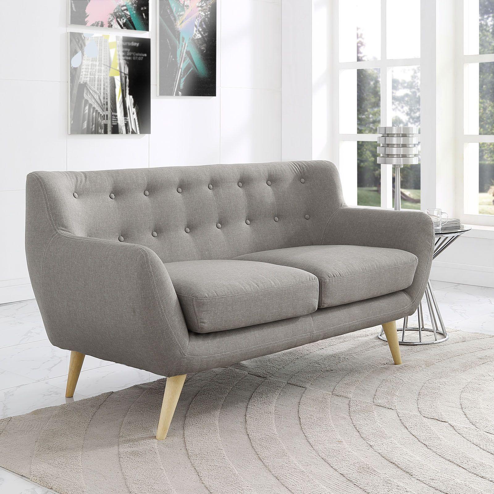 Cool This Elegant Modern Loveseat Will Bring Plush Comfort To Ibusinesslaw Wood Chair Design Ideas Ibusinesslaworg