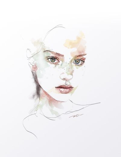 Artist - Based in Pittsburgh PA. Mixed Media Portraiture in Watercolor, Ink, Pencil and Acrylic