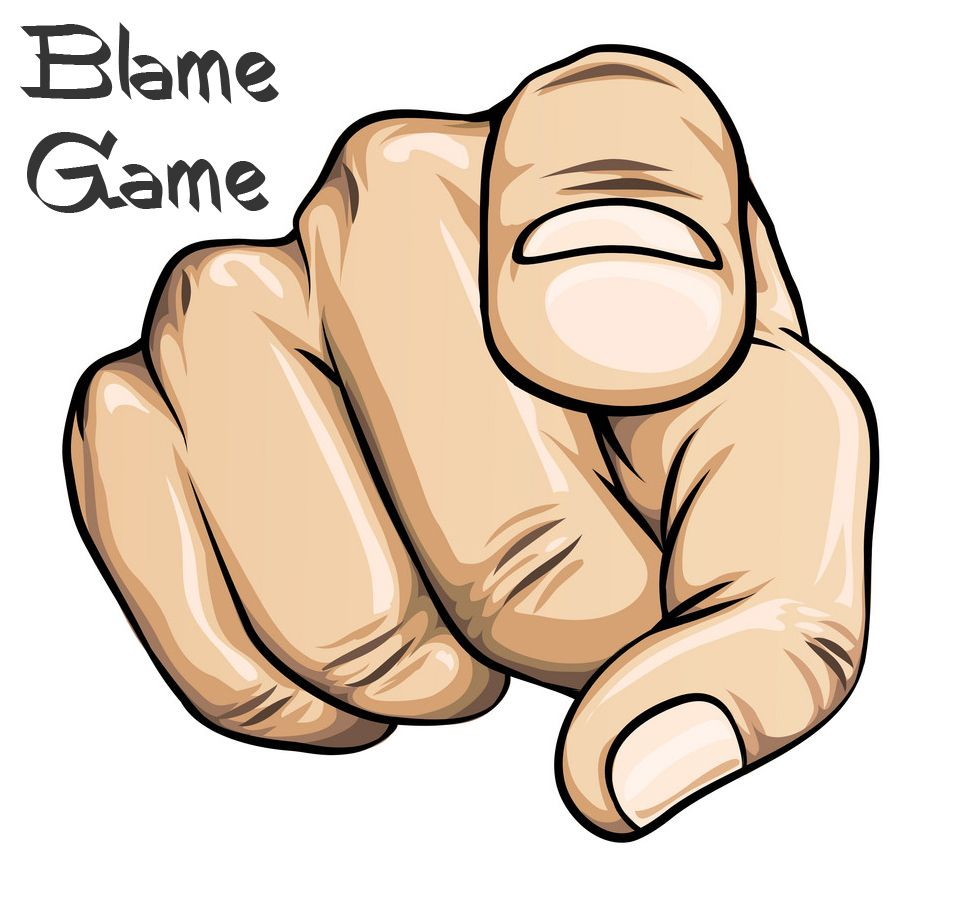 Blame Game Courageous Christian Father Pointing Hand Pointing Fingers Hand Drawing Reference