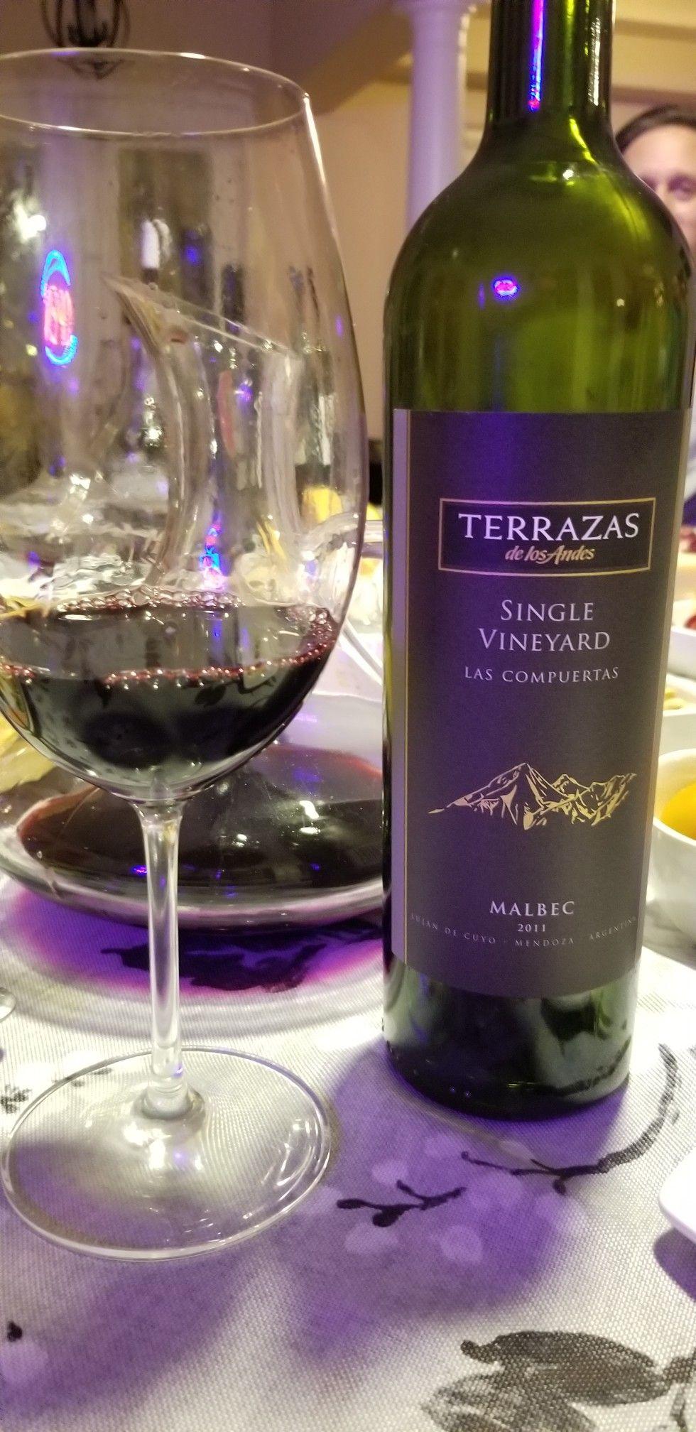 Terrazas De Los Andes Single Vineyard Las Compuertas Malbec