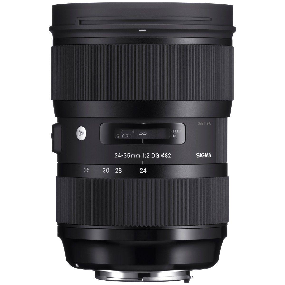 Sigma 24 35mm F 2 Dg Hsm Art Lens For Canon Ef In 2021 Art Lens Sigma Lenses Nikon Digital Slr