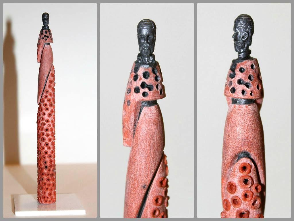 AMBAAR KHANA Sculpture On A Pencil Lead Hasnain Ali - Artist carves miniature pop culture sculptures into pencils