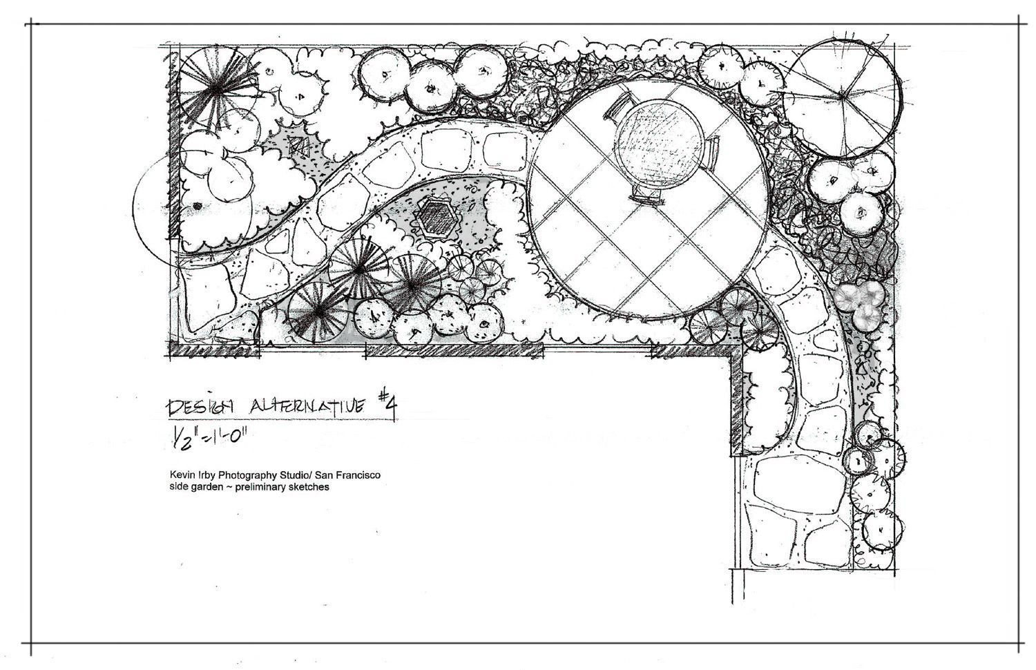 Landscape architecture urban design sketches bathroom for Landscape plan drawing