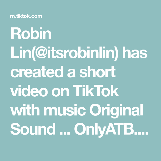 Robin Lin Itsrobinlin Has Created A Short Video On Tiktok With Music Original Sound Onlyatb Someone Fr Making Mac And Cheese Cooking Videos Cooking Show