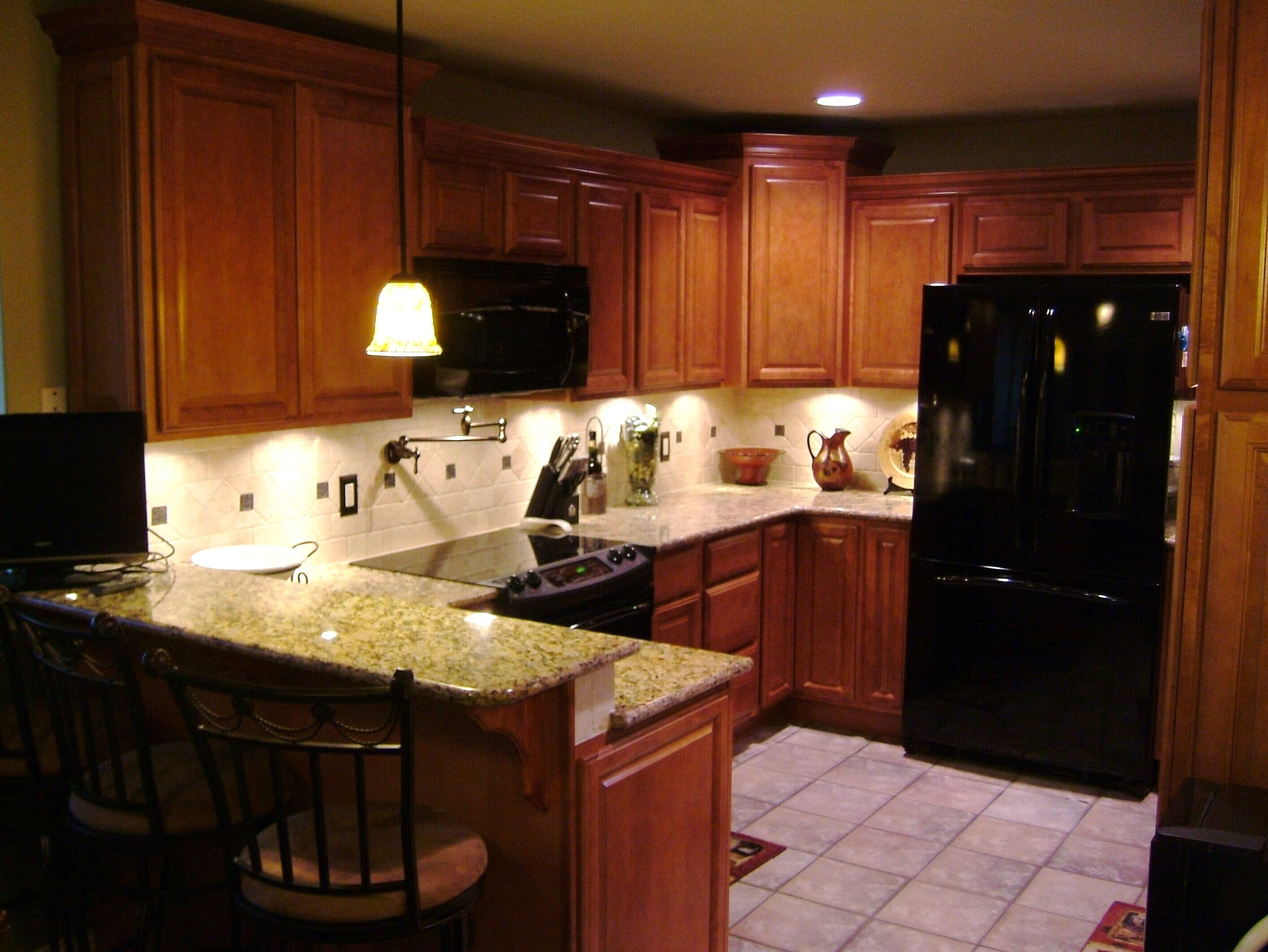kitchen remodel okc ikea countertop oklahoma city edmond we removed a fluorescent light grid and ceiling fur