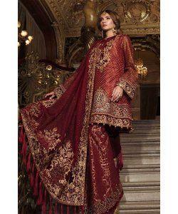 3e4dcbd726e Best 12 Maria.B Mbroidered Chiffon Wedding Collection Salwar Suits D ...