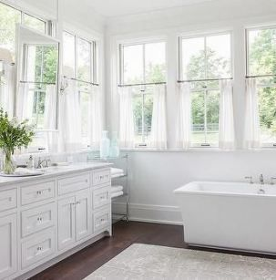 best bath room mirror window curtains 25+ ideas | white