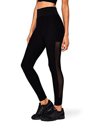 27c4c558b2061 AURIQUE Women's Seamless Mesh Sports Leggings. AURIQUE Women's Seamless  Mesh Sports Leggings Fitness Wear Women, Running ...