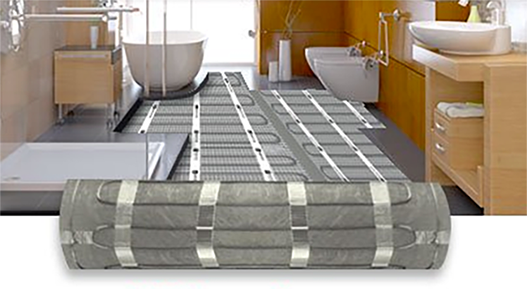 Pic On Tile and stone floor heating systems from WarmlyYours are a luxurious way to add electric radiant heat to bathrooms kitchens or other rooms in your home