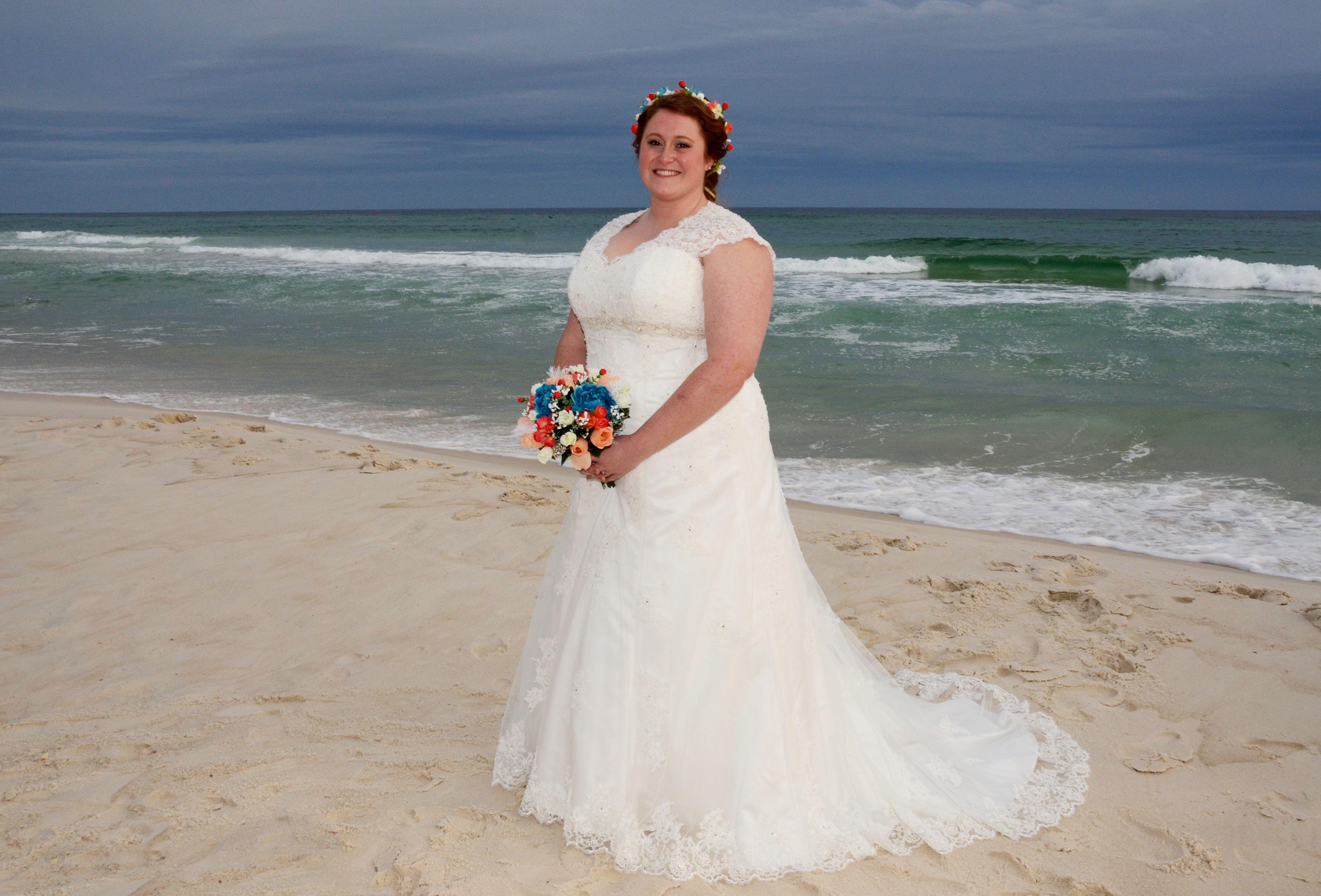 Panama City Beach, Florida destination beach bride! Photo