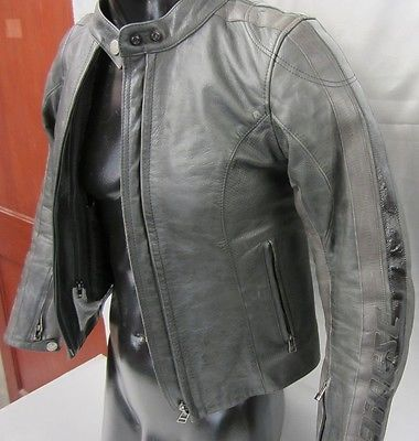 Womens Dainese Lucky Lady Leather Motorcycle Jacket Sz 40 Euro Leather Motorcycle Jacket Jackets Motorcycle Jacket