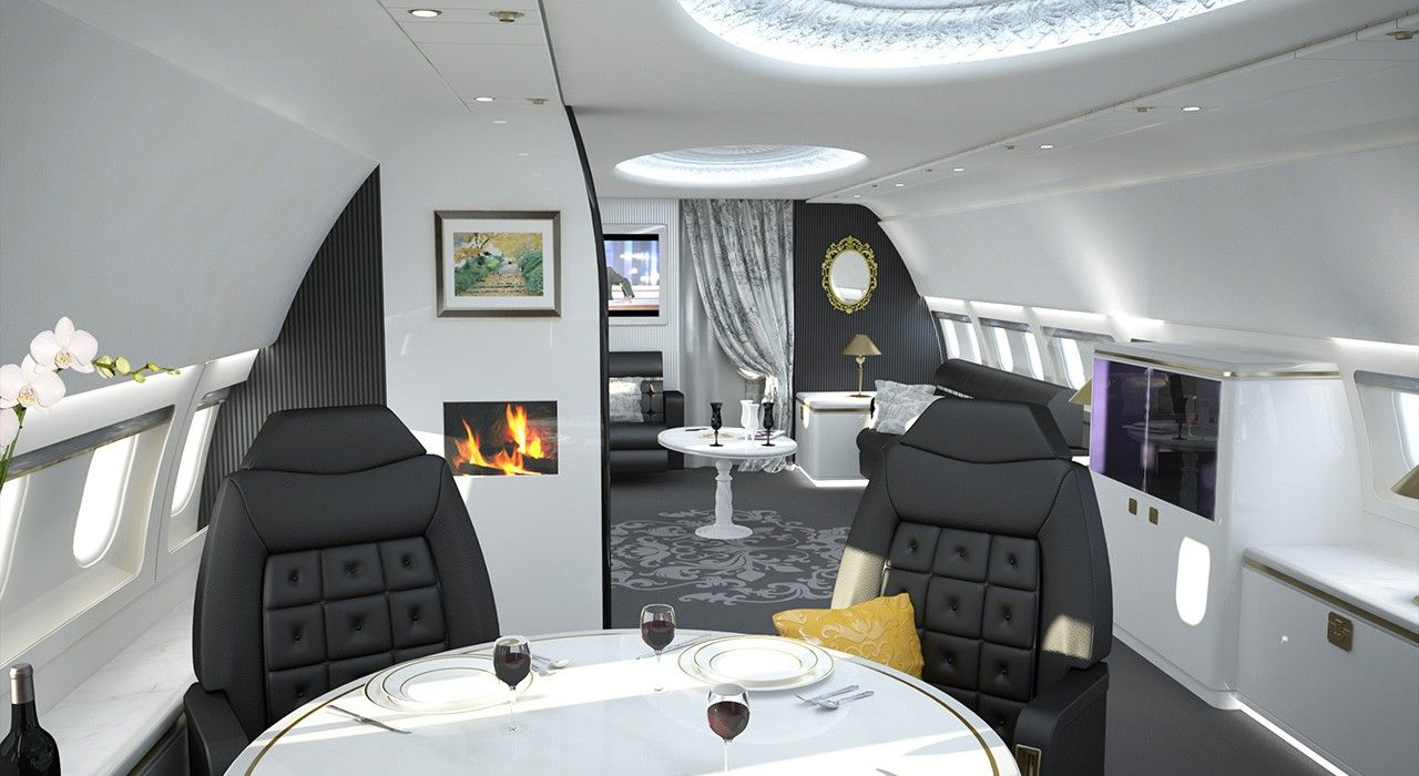 China Pushing Demand For Bespoke Private Jets Private Jet Interior Private Plane Interior Private Jet