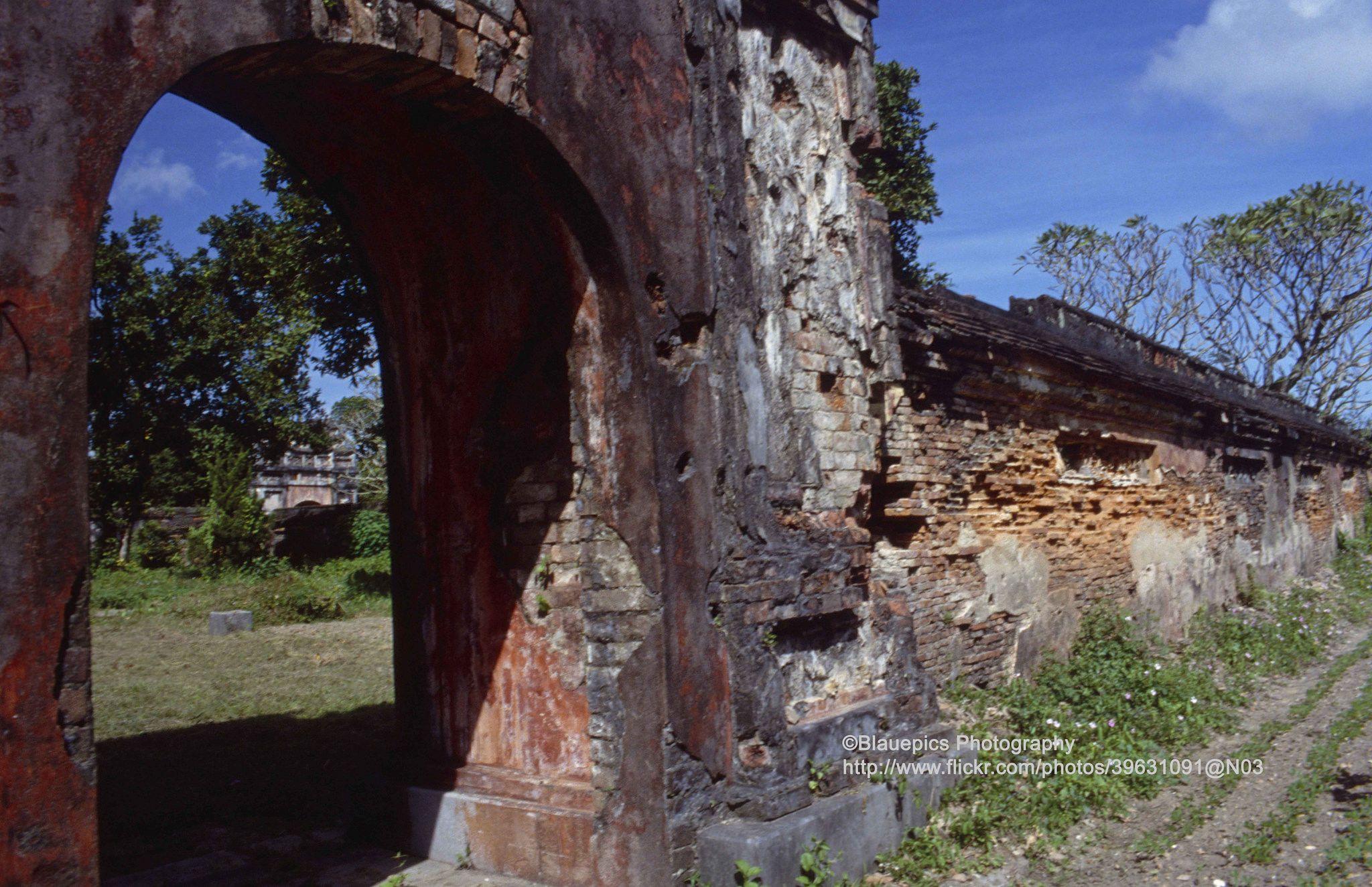 Hue Imperial City War Damage