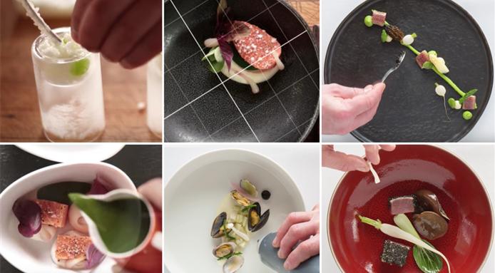 4 Amazing Food Plating Videos