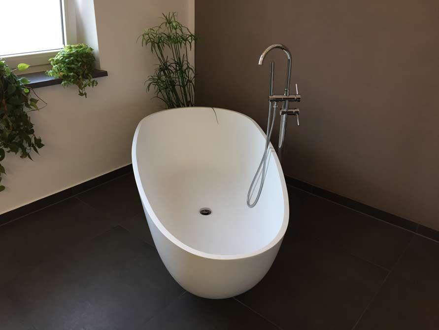 Freistehende Badewanne Luino Grande Badewanne freistehend - schöne badezimmer ideen