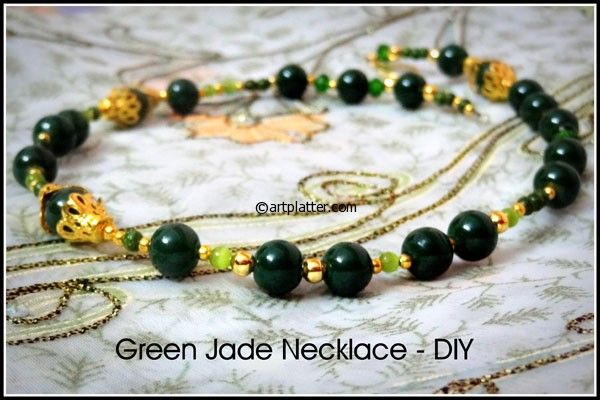DIY Necklace with Jade – Beginner Project