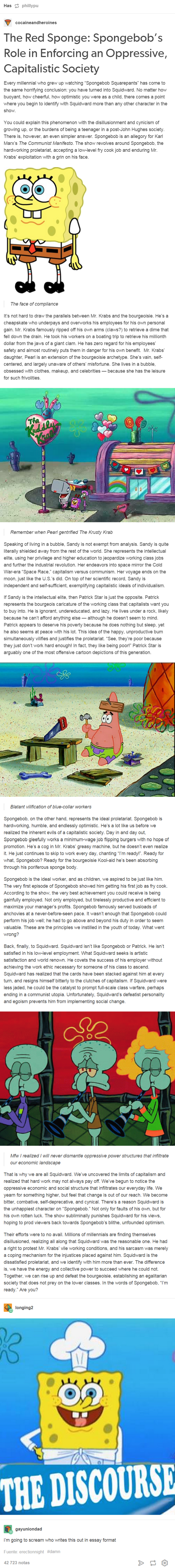 spongebob is about communism | the vault | pinterest | spongebob