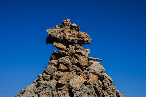 Cairn, Pierres, Pile, Roches