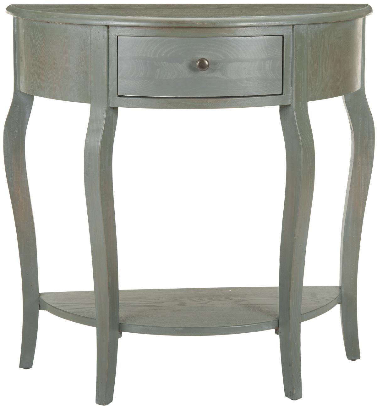 American Home Jan Demilune Console Table design by Safavieh
