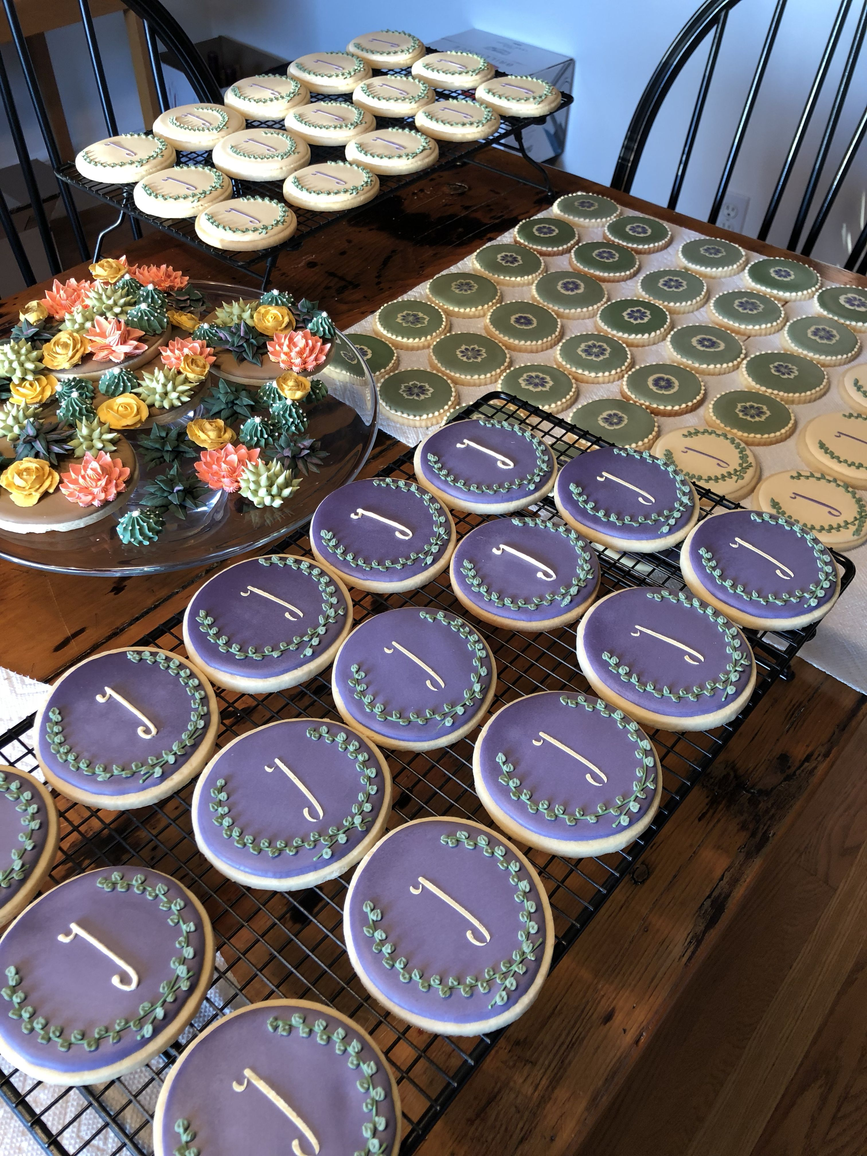 Pin by The Cupping Stone on Sugar cookie designs Wedding
