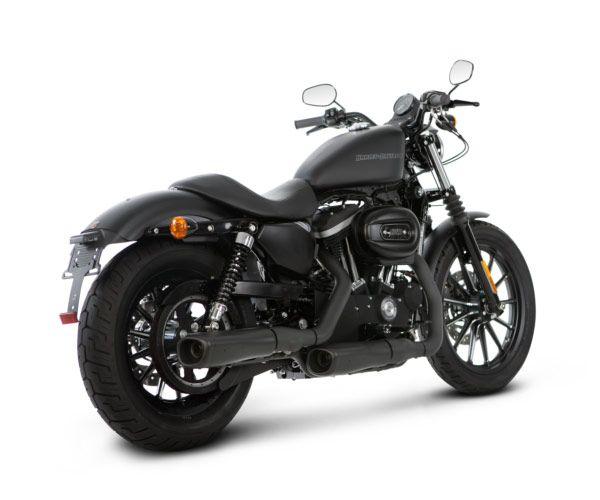 custom sportster black harley davidson