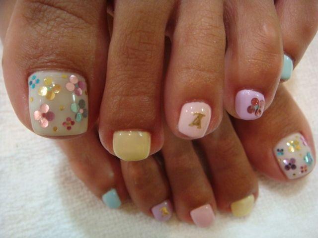 Chic Toe Nail Art Ideas For Summer Nail Styles And Nail Polish