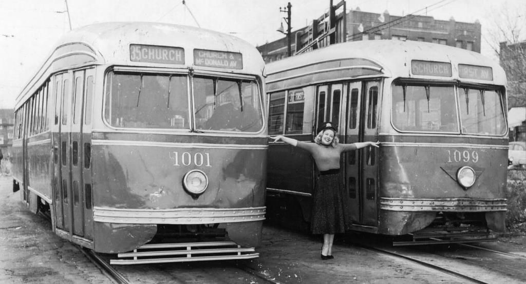 Brooklyn pccs shortly before the end of service 1127