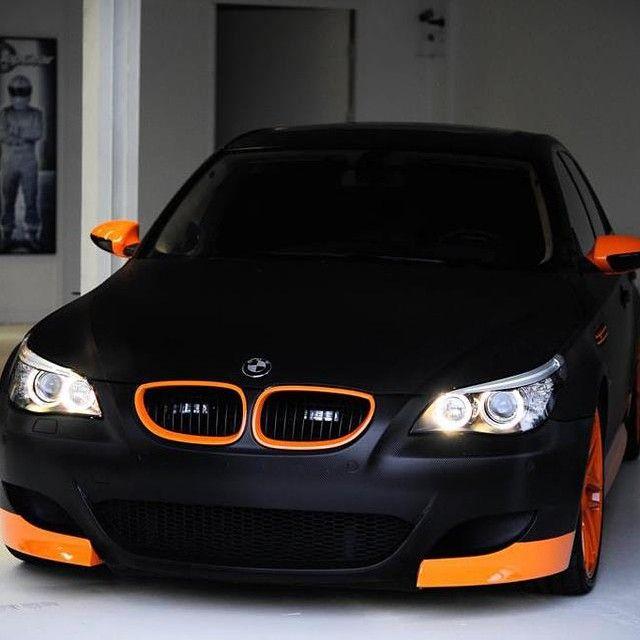 BMW M5 Matte Black