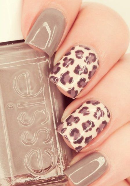 Nail Art Summer Nails Ideas Uas Pinterest Leopard Print Nails