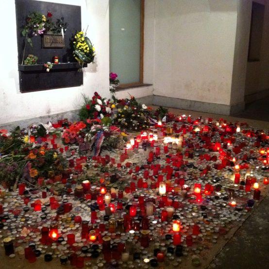 20th anniversary of the Velvet Revolution
