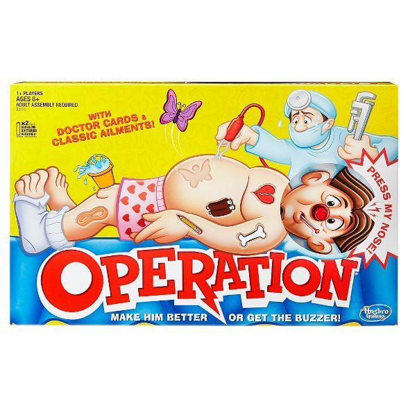 Operation Board Game : Target
